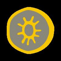 aurinkovuosi-keltainen